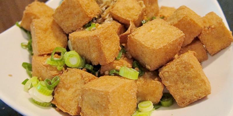 1.Deep Fried Tofu